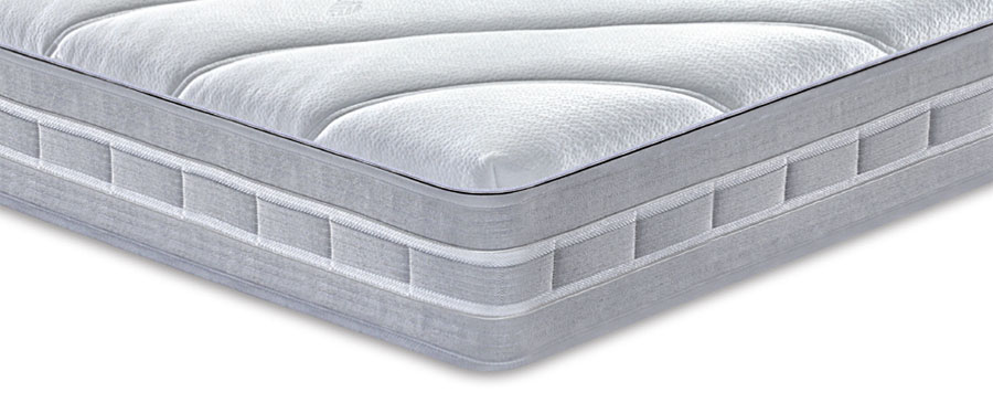 Handles that allow to rotate and turn the Carisma mattress over